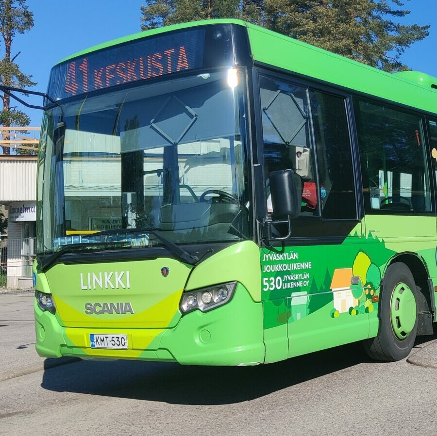 Vihreä linja-auto